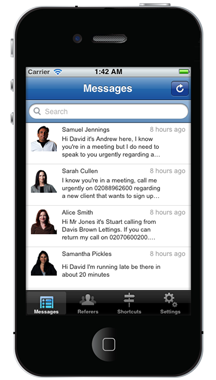 voicemail to text app iphone